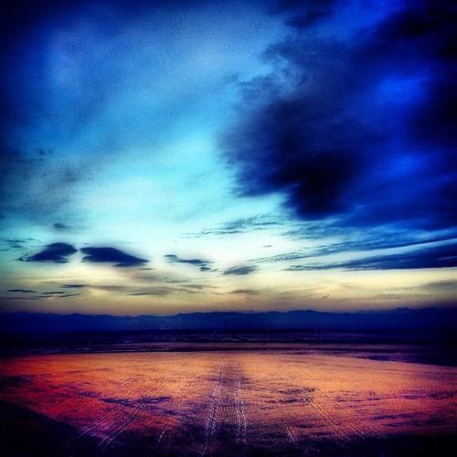 View of #denver from DIA by @MySoDotCom