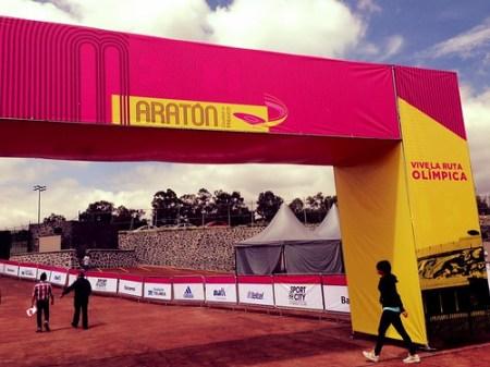 Transmisión del Maratón de la Ciudad de México 2013