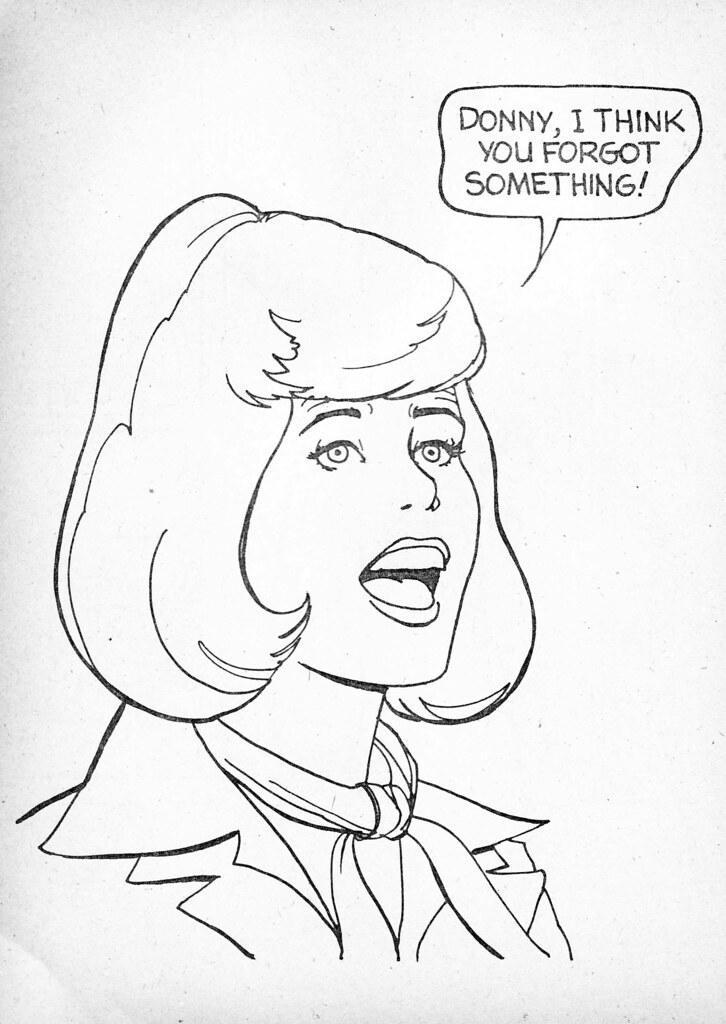 Retrospace: Vintage Scan # 27: Donny & Marie Coloring Book