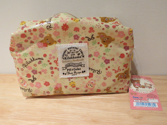 Rilakkuma make-up bag