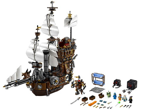 The LEGO Movie 70810 MetalBeard's Sea Cow set 1