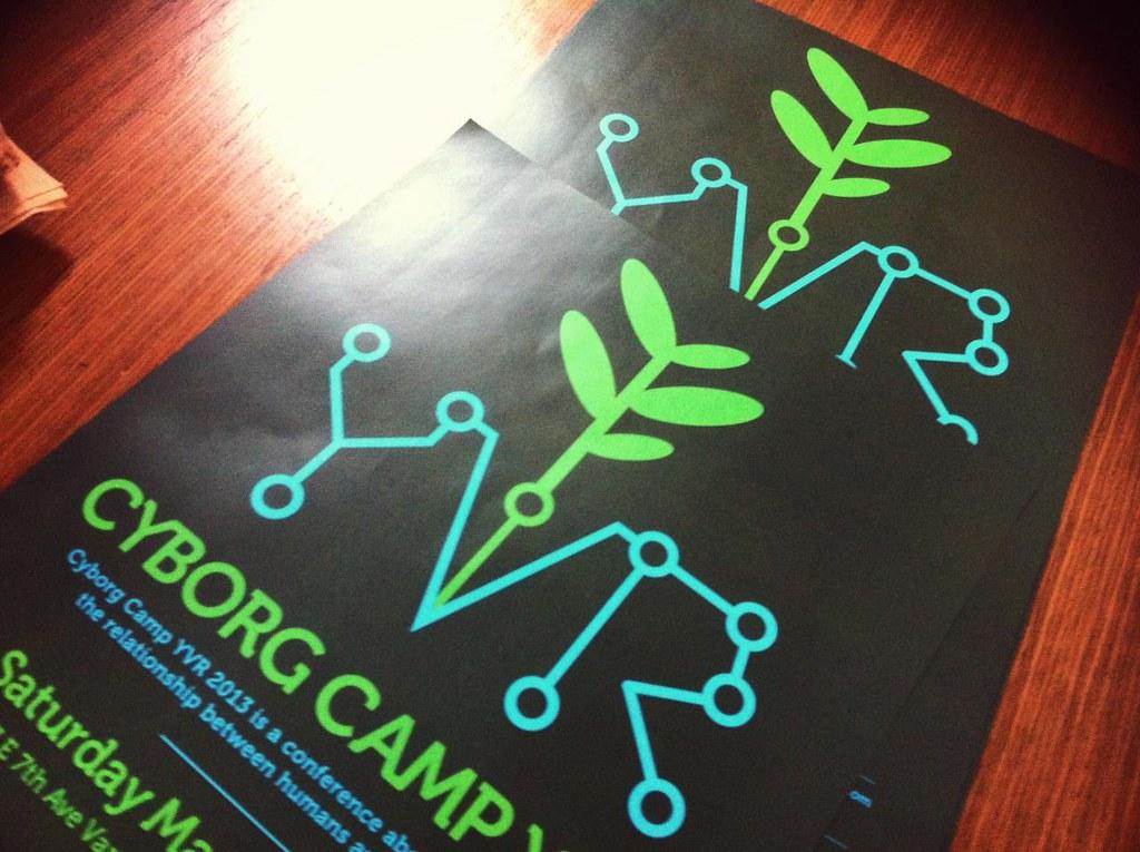 Cyborg Camp Vancouver via iPhone