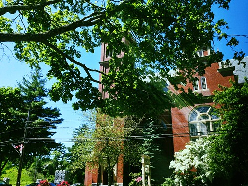 Downtown Methuen on a sunny Saturday morning.