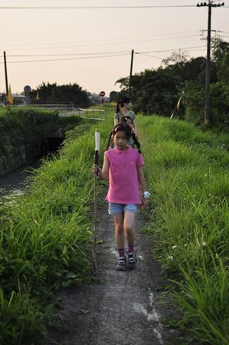 【散步水圳邊2】嘉南大圳南幹線官田2(8.9ys)