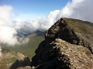 Gipfelblick Wilde Kreuzspitze 3.132m
