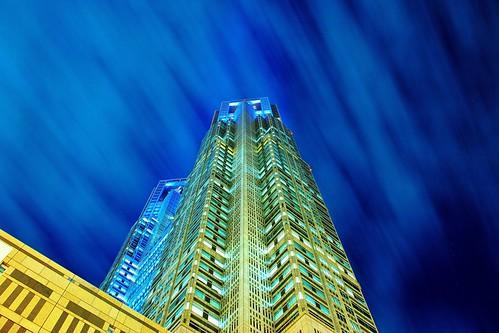 Blue Tokyo by hidesax
