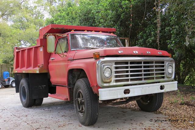 1978 Ford F600 Dump Truck