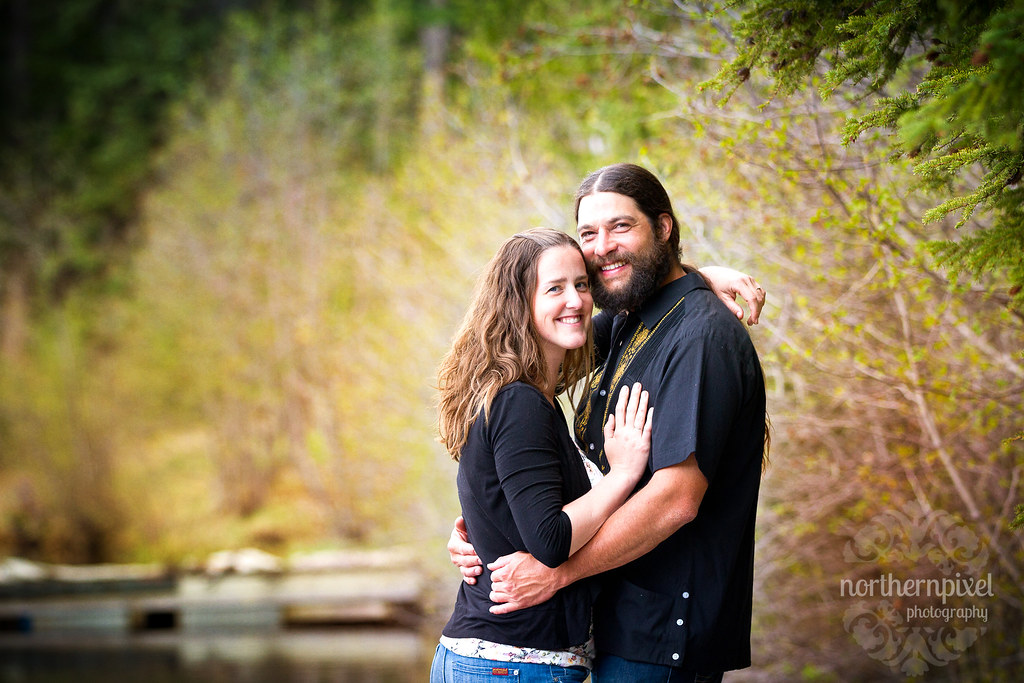 Engagement Session - Bednesti Lake BC