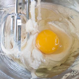 beat in 1 egg
