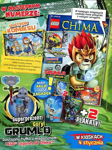 LEGO Legends of Chima Oficjalny Magazyn 2013-02 02