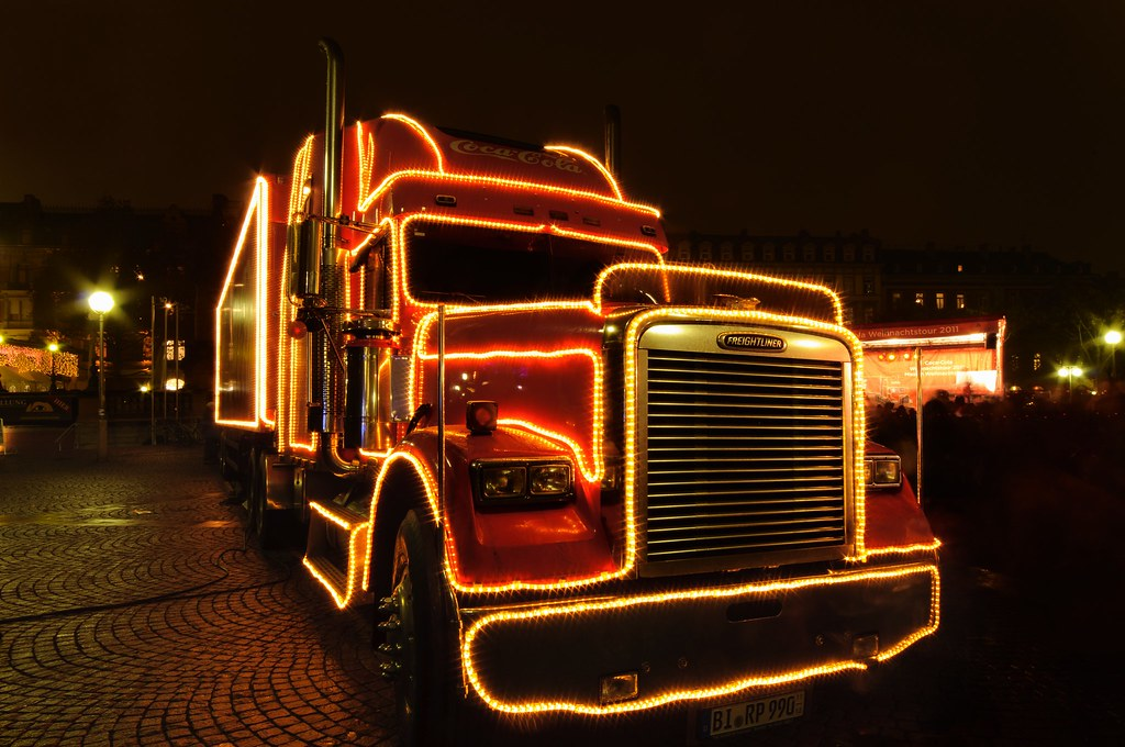 Coca Cola Weihnachtstruck by OK's Pics