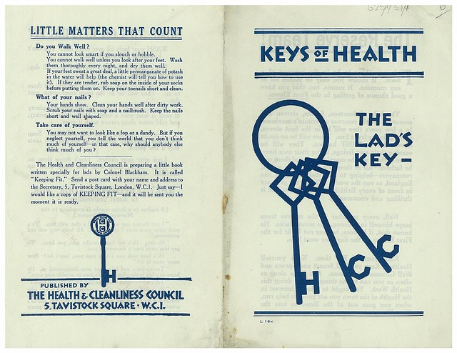 Keys of Health, the Lad's Key, front