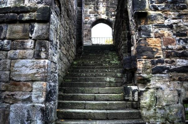 Kirkstall Abbey Staircase