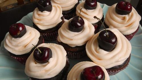 Sexy Cherry Cupcakes 34