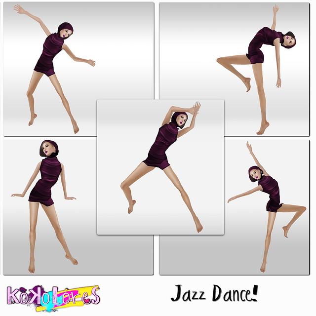 Jazz Dance! pose pack