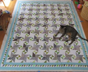 Quilt Basting Helpering
