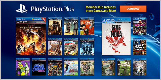 PlayStation Plus Update 11-5-2013