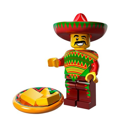 The LEGO Movie Minifigures Taco Tuesday Guy