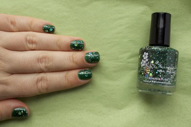 09 KBShimmer Green Hex&Glam