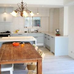 Costco Kitchen Remodel Shelves Ideas 裝潢 廚具選擇過程與安裝 結婚 幸福 痞客邦 整體安裝完成的廚房 顏色跟我們當初設想的幾乎100 相同基本上靠近牆面的廚具是cleanup不鏽鋼桶身 中島和唯一的上櫃是台製的門板請木工重新釘 烤漆檯面是石英石
