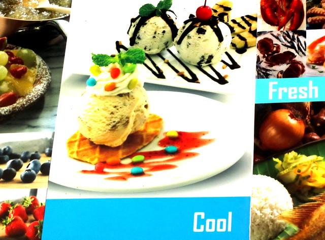 SB waffle with ice cream