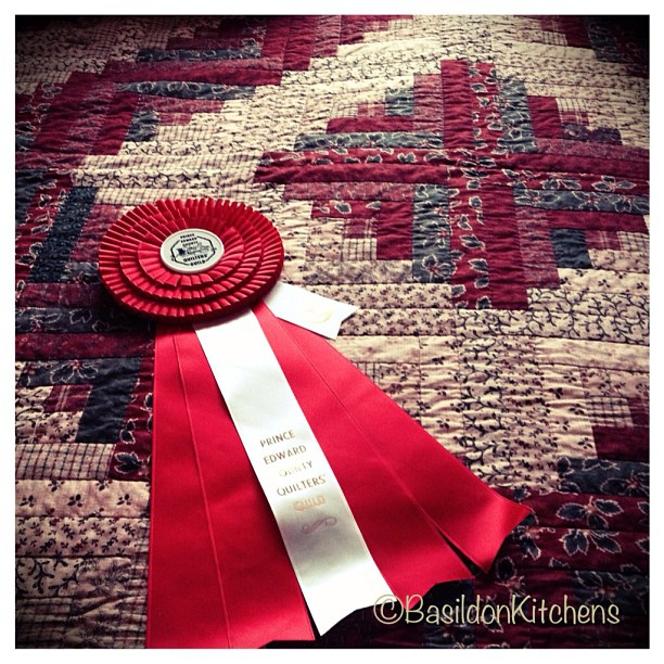 May 9 - that's a winner {my prize winning quilt} #photoaday #quilt #prize