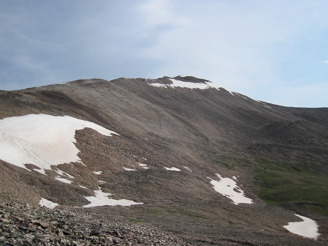 Picture from Mt. Sherman, Colorado