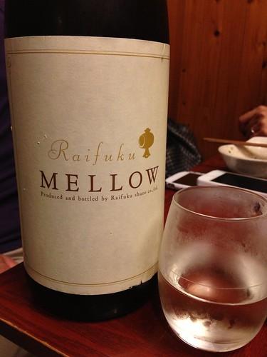 デザートな日本酒、MELLOW@溝の口 魚んと