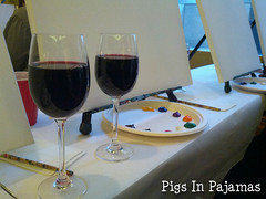 Wine & painting