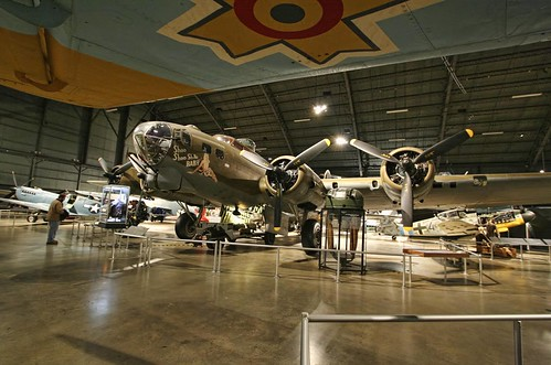 "Photo copyright Jen Baker/Liberty Images; all rights reserved. Pins to this page are okay. ""B-17: Shoo Shoo SHOO, Baby!"""
