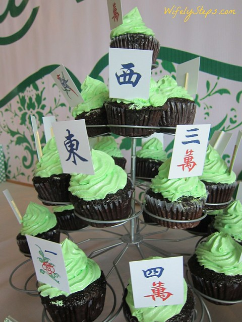 Mahjong Themed Birthday Party Wifely Steps