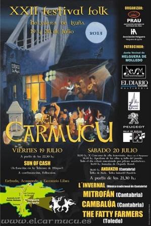 The Fatty Farmers en el Festival Folk El Carmucu