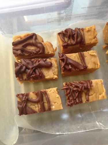 GF peanut butter fudge