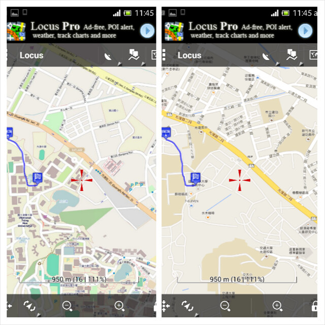 Set5 OSM vs Google Map