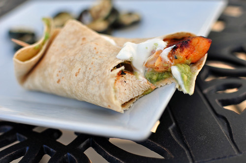 Spicy Lemon Chicken Wraps 3