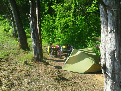 Cherokee campsite
