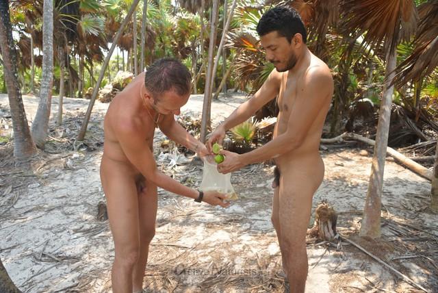 naturist ceviche 0000 Sian Kaan beach, Quintana Roo, Mexico