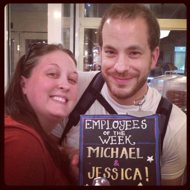 Jess & Mike's visit