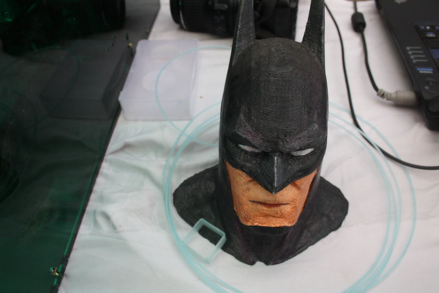 3D printed Batman