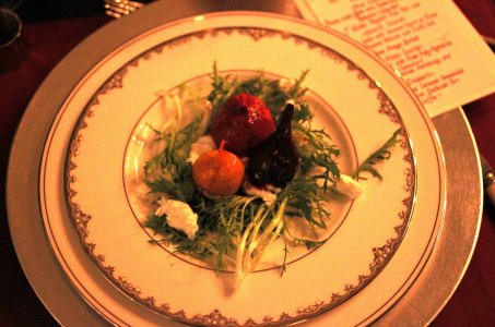 The Beet and Chevre salad