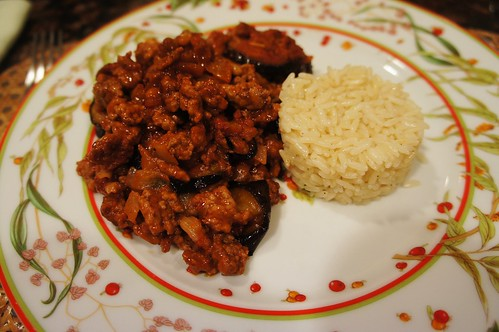 At Home:  Lamb and Eggplant Casserole