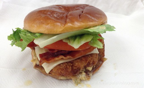 McDonald's Premium Crispy Chicken Bacon Clubhouse Sandwich
