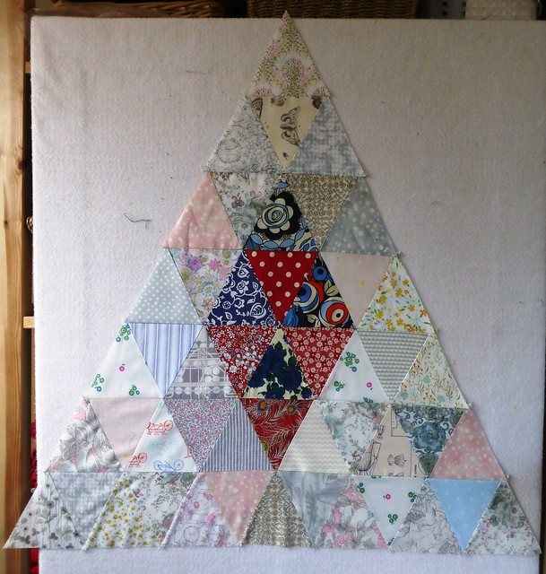 Brit Bee Block for Jo/May13 - Liberty Triangles
