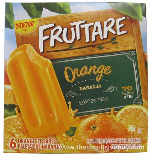 Fruttare Orange Ice Bars