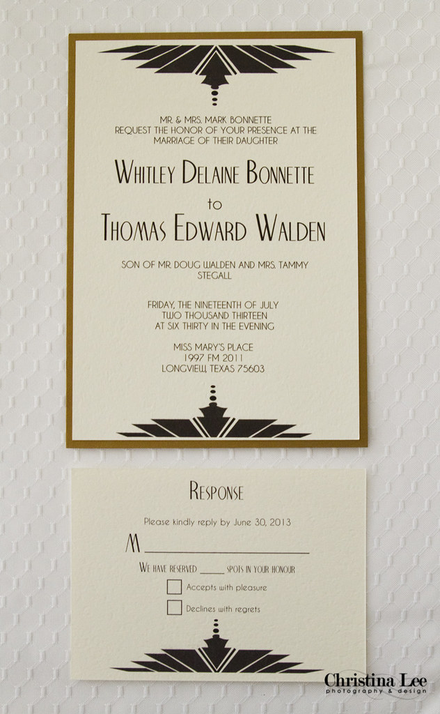 Wedding Invite Black-Gold Old Hollywood3