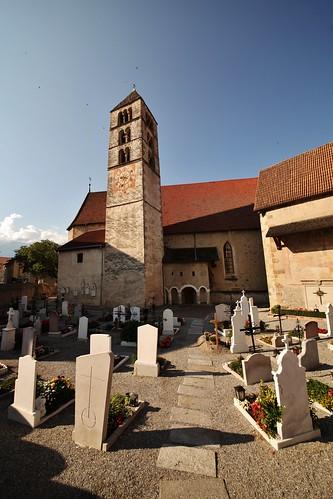 Flickr_Val_Venosta_Sluderno_campanile e cimitero
