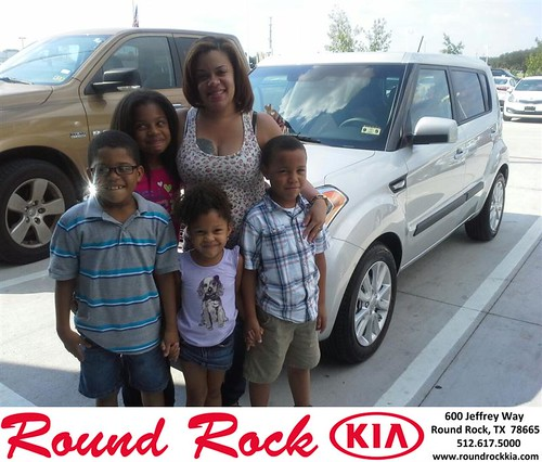 Thank you to Tamara Cintron on your new car  from Charles Curry and everyone at Round Rock Kia! by RoundRockKia