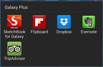 Apps ต่างๆ ที่ Samsung มีมาให้ใน Galaxy Plus