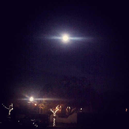 full moon over Mountain View