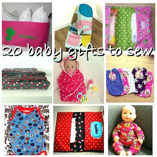 babycadeautjes om zelf te naaien